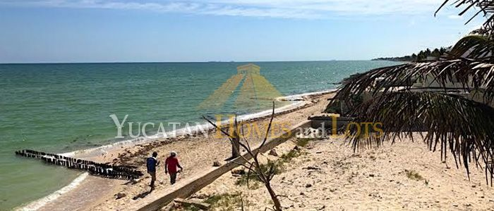 Renovation project house at the beach in Yucatan Mexico