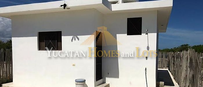 Starter beach home for sale in Yucatan Mexico