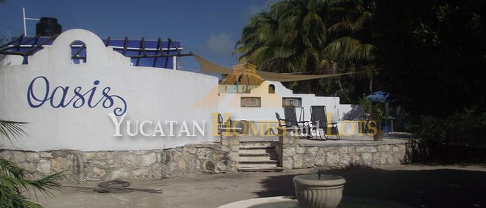 Compound of three houses for sale Yucatan mexico