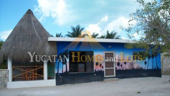 restaurant Oasis compound property for sale in Telchac Yucatan Mexico