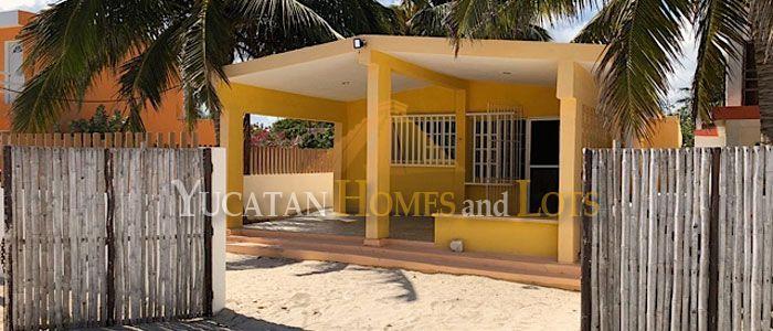 Beach house for sale in Yucatan Mexico