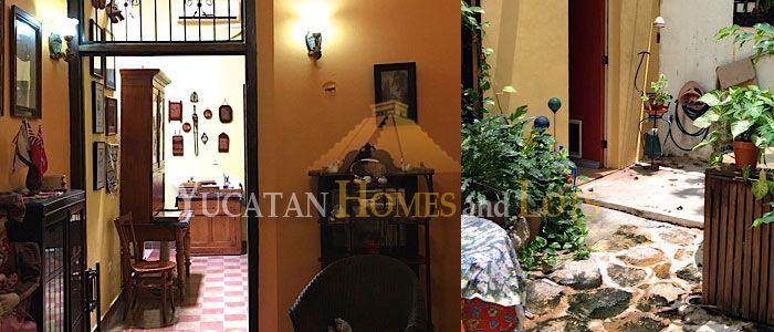 Santa Ana colonial home for sale Merida Yucatan