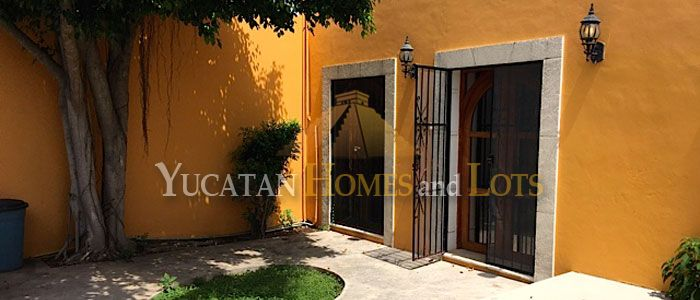 Colonial renovated home for sale in Ermita, Merida, Mexico