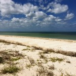 Beachfront land with plans in Sisal Yucatan 07
