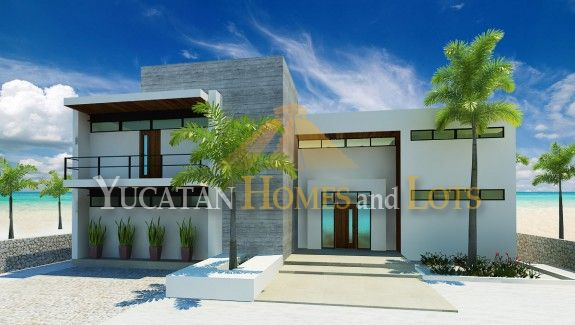 Plans for beach house on property in Sisal C1