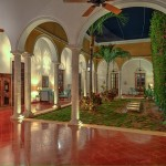 Luxury colonial mansion for sale in Merida Yucatan Mexico 105_B280001