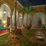 Luxury colonial mansion for sale in Merida Yucatan Mexico 106_B280004
