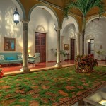 Luxury colonial mansion for sale in Merida Yucatan Mexico 112_B280022