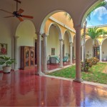 Luxury colonial mansion for sale in Merida Yucatan Mexico 17_B280116