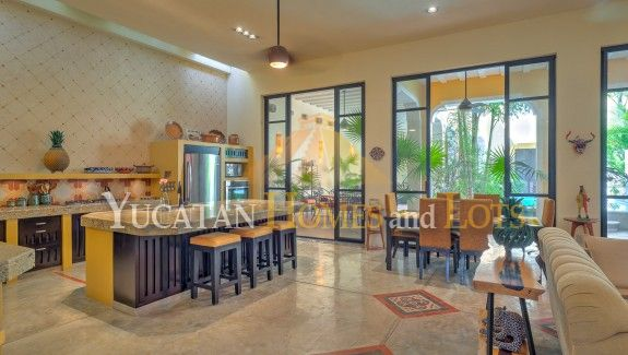 Casa Portales renovated colonial for sale in Merida Yucatan