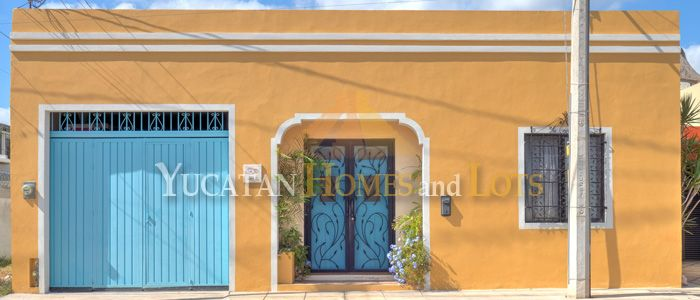 Renovated colonial for sale in Merida