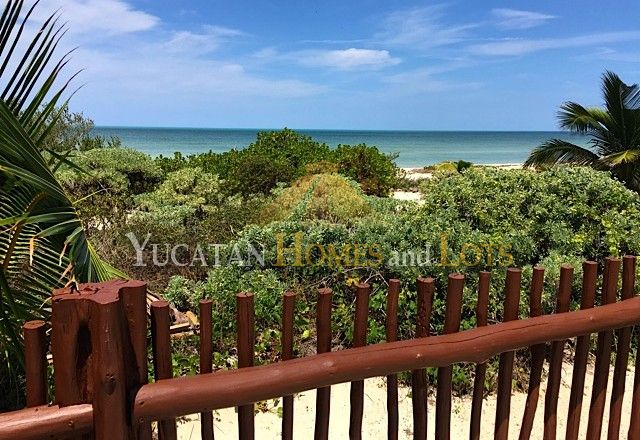 Telchac Beachfront Home YHL7099 - Yucatan Homes and Lots
