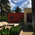 Yucatan beach house for sale - garden area