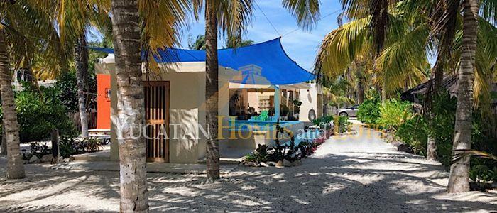 Beachhouse for sale in Yucatan Mexico