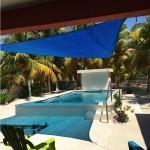 Yucatan beach house for sale - pool area
