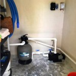 Yucatan beach house for sale - pool filtration system