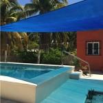 Yucatan beach house for sale - pool w cover