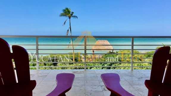 Modern Sisal Yucatan Beachfront Home for Sale