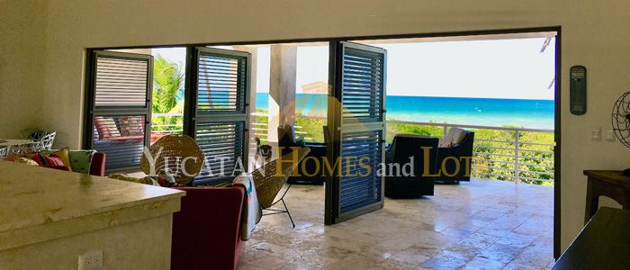 Modern Sisal beachfront home for sale in Yucatan Mexico