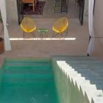 House for sale Merida Yucatan pool angle